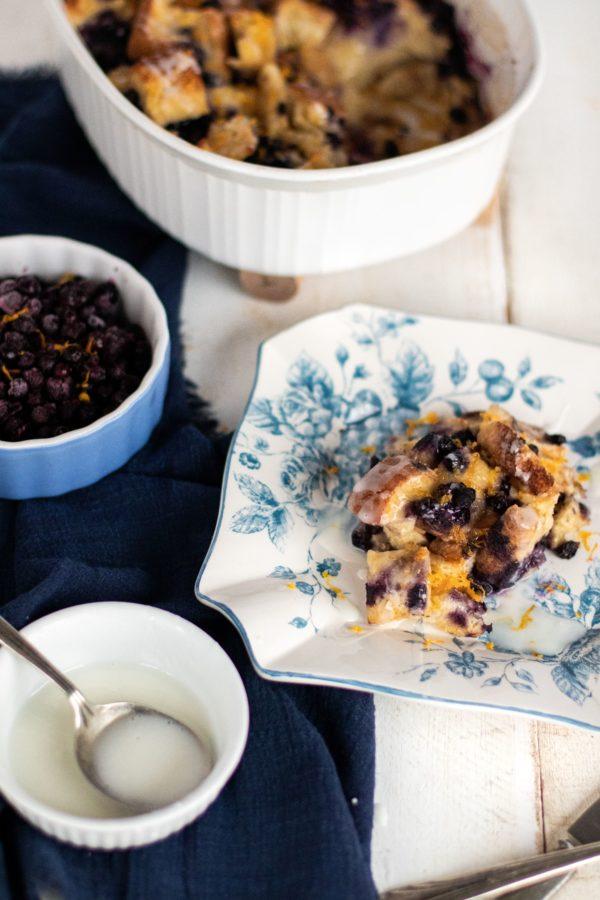 Photo ''Casserole de pains dorés bleuets'' 2-min