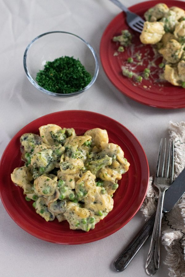 Photo ''Tortellini sauce alfredo'' 2-min